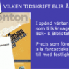 VILKEN TIDSKRIFT BLIR ÅRETS KULTURTIDSKRIFT 2014?